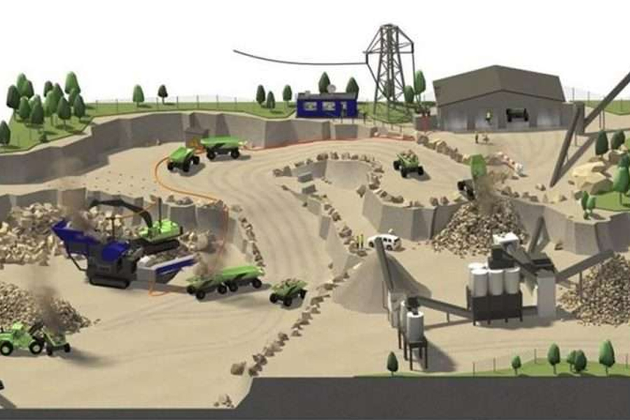 Overview of the Electric Site concept.