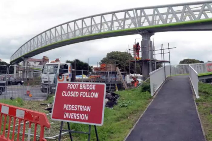 Stockbridge footbridge costs top £1.7million