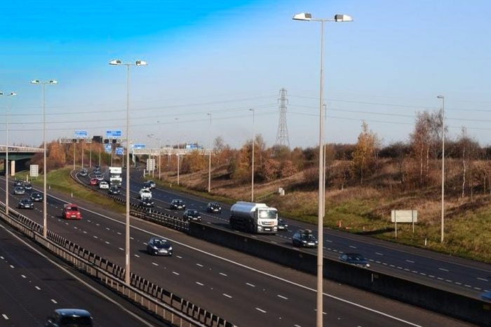 What is the best route in the UK for driverless lorries?