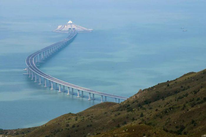 Around the globe   World's longest sea bridge to open...
