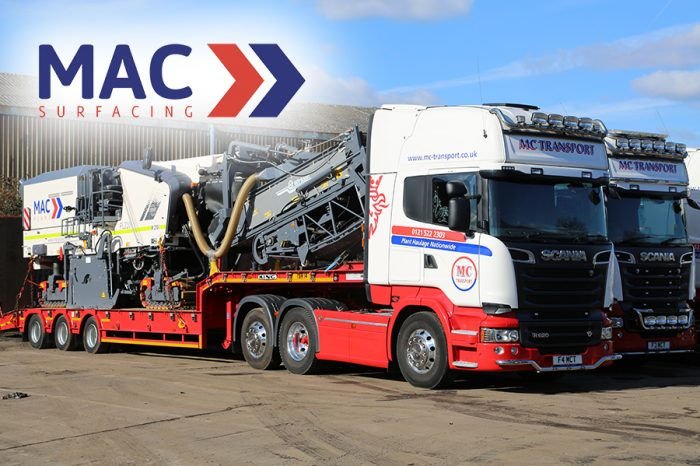 MAC Surfacing | Plant Haulage division keeps projects moving smoothly