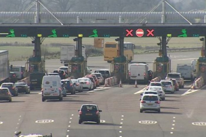 Severn toll booth removal work warning for drivers