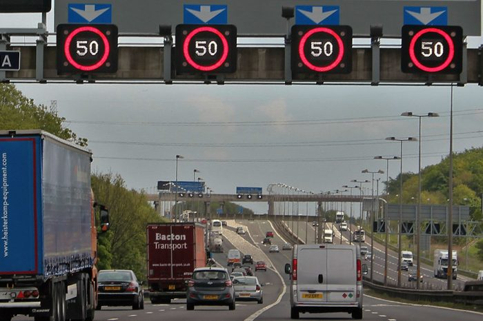 Failing to read smart motorway signs correctly could seriously cost you