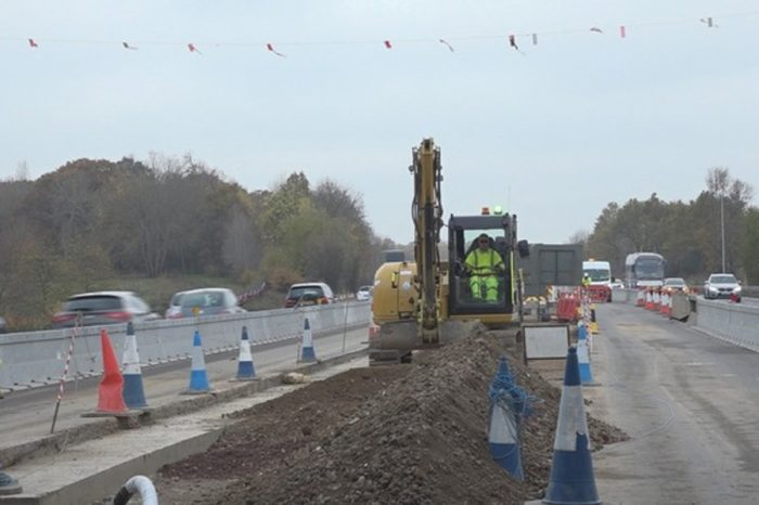 Largest compound ever built to house M4 smart motorway workers