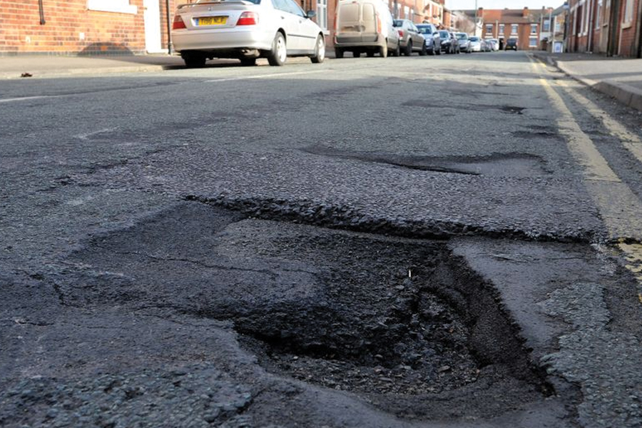 Millions of pounds set aside for road repairs in Staffordshire