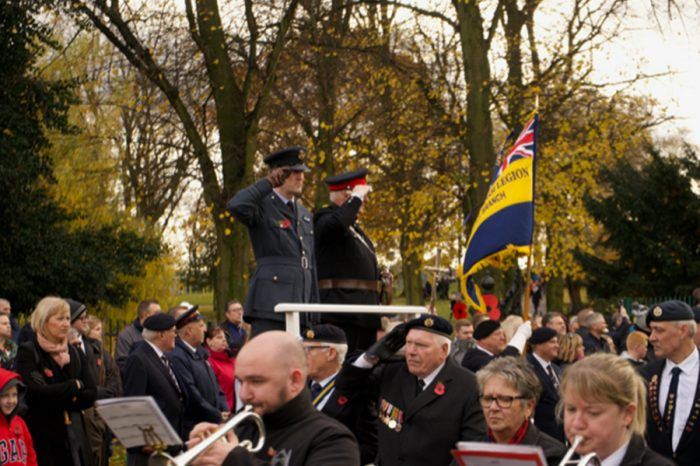 TMGB | Service above and beyond for Remembrance Sunday