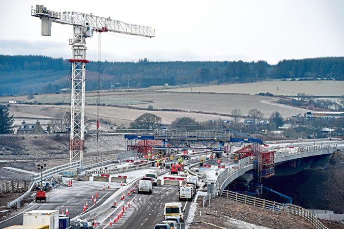 Aberdeen bypass will open next week but at a cost of more than £1 billion