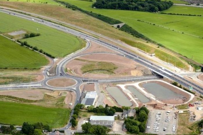 Pivotal stretch of delayed £1bn Aberdeen bypass opens