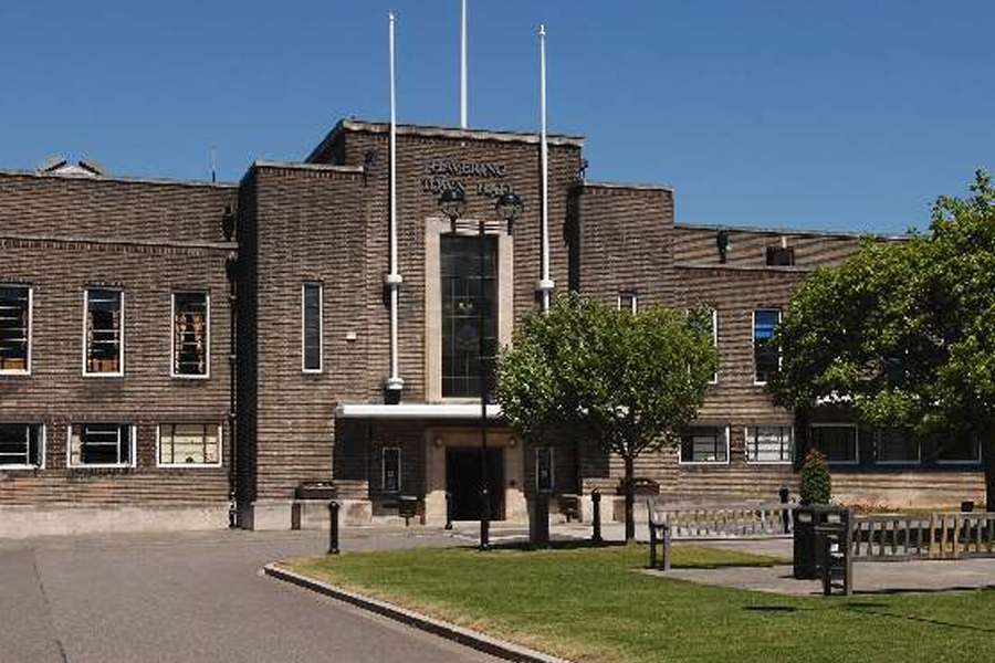 Romford Town Hall. Image: YA archive