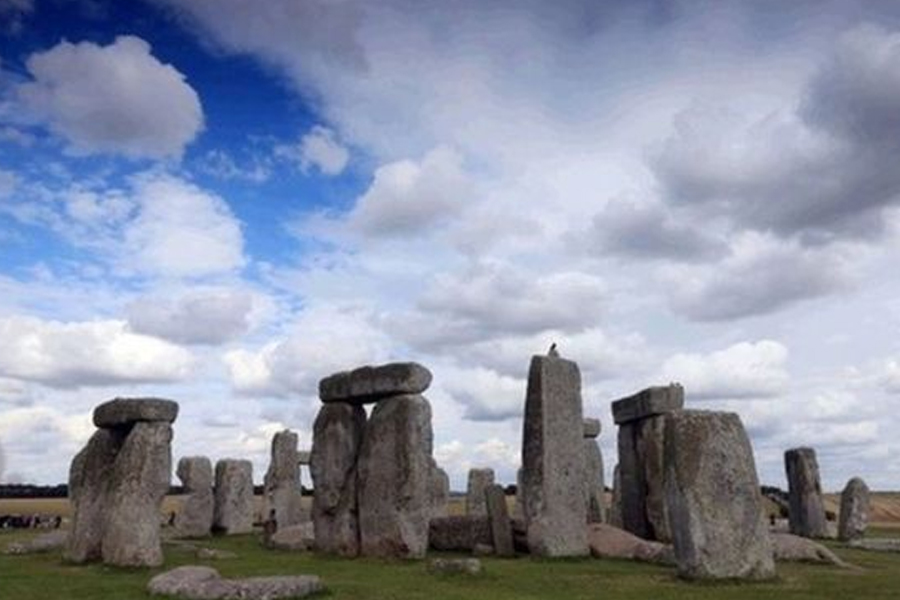 Blick Mead is about 1.5 miles (2.4km) from Stonehenge in Wiltshire. Image: PA
