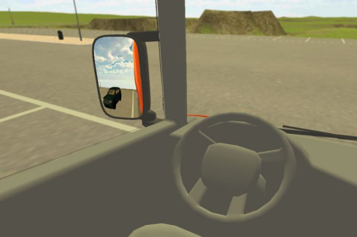 VR App developed to educate about blind spots