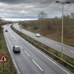 Work will be taking place on the A38 northbound until May (Image: Derby Telegraph / Ian Hodgkinson)