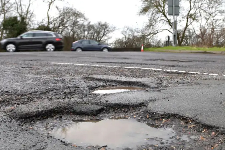 You will see fewer potholes per kilometre of road in Blackpool than many other places in the UK, according to an insurance firm