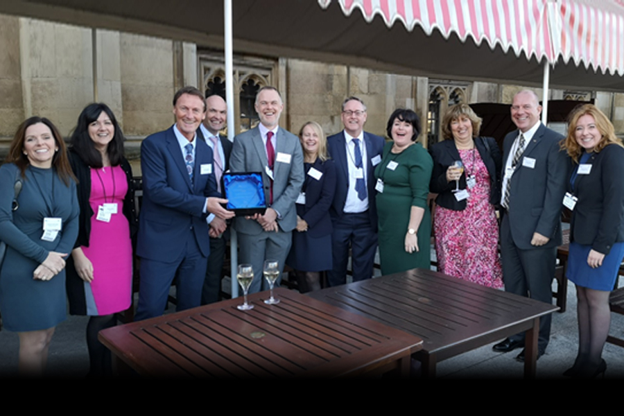 Chevron shares in East Midlands Asset Delivery Community's success at the ICW Collaborative Working Awards 2018
