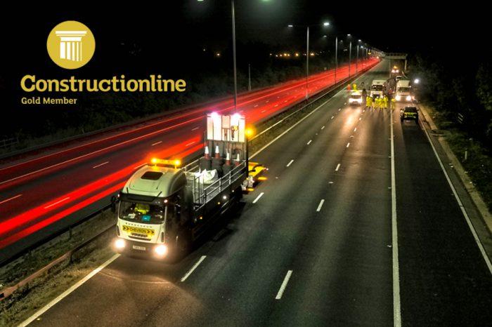 Chevron TM | Achieving Constructionline Gold