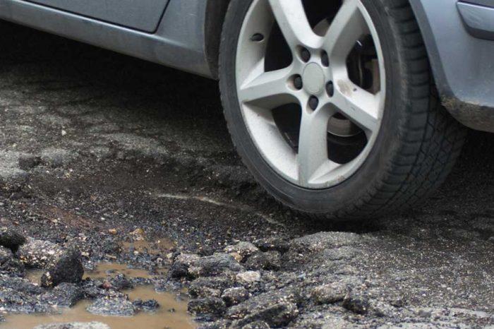 Councils won't fix potholes until a minimum depth is reached