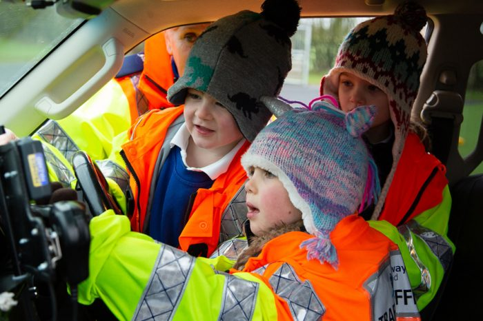Top marks for Highways England visit to Primary School