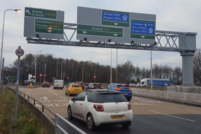 Huge motorway junction upgrade completed six weeks early