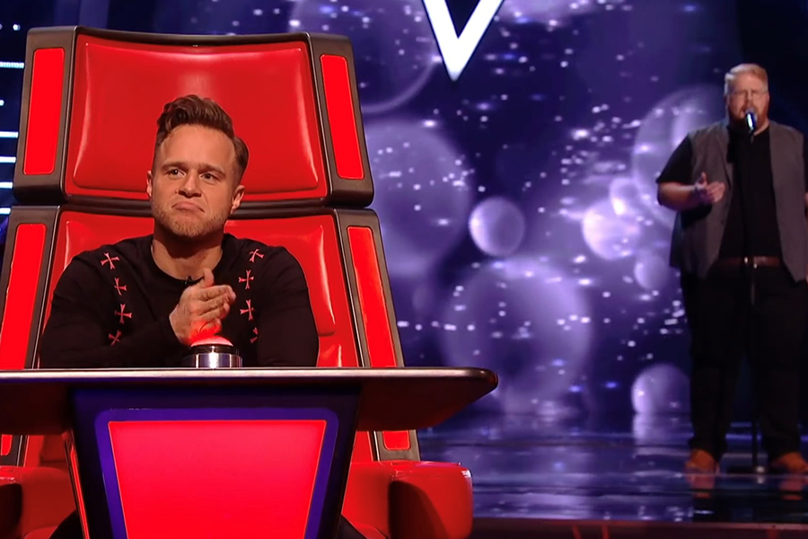 Chevron TM | Chevrons Luke Swatman performs on 'The Voice UK'