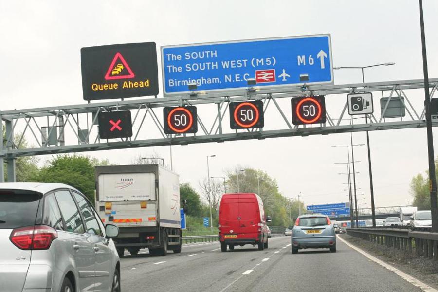 £150m M6 smart motorway contract delayed