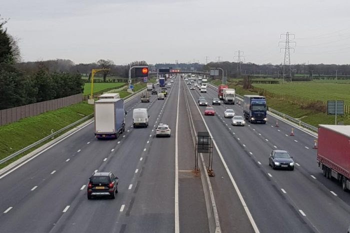 Extra lanes open on M6 in Cheshire as part of major upgrade