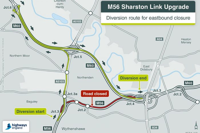 New year upgrade for Manchester motorway link