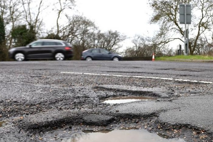 Potholes are twice as bad as 2006 according to research