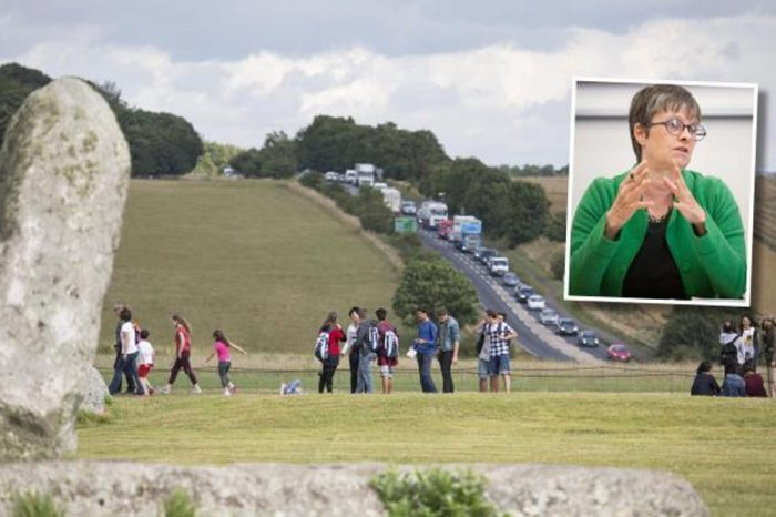 MEP hits out at 'hugely damaging' tunnel plan for A303 at Stonehenge
