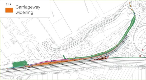 University Interchange improvements (Image: Highways England)