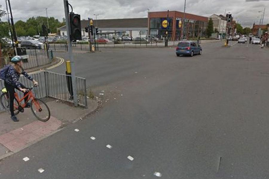 Dudley Road in Winson Green