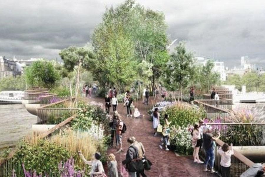 Failed London Garden Bridge project cost £53m