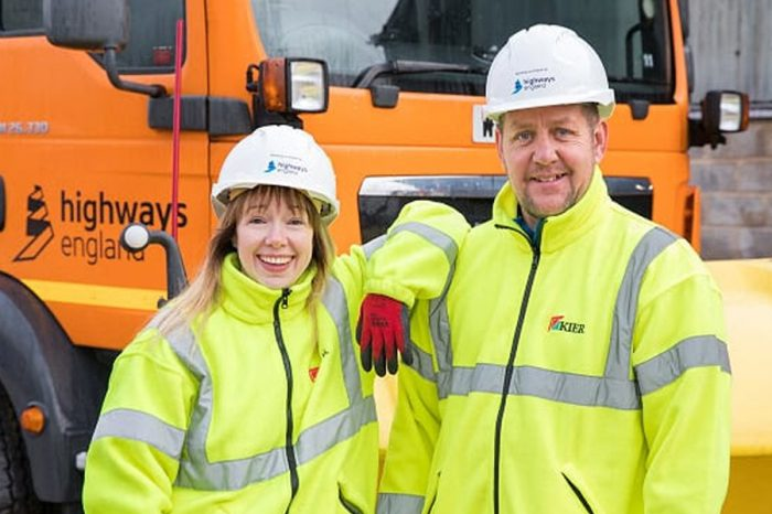 True grit - meet the husband and wife duo keeping motorways moving this winte