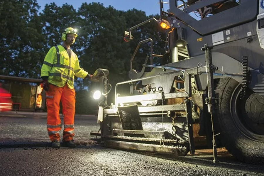 Plastic roads have been trialled previously in Cumbria resurfacing the A7