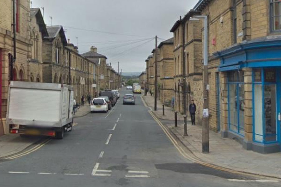 The junction of Caroline Street and Victoria Road in Saltaire. Image: Google Street View