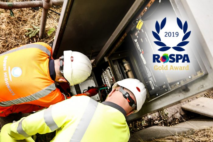 Crown Highways | Crown achieves RoSPA Gold Award for health and safety practices