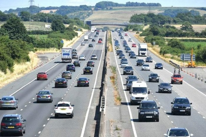 Drivers suffer spike in delays on England's major roads