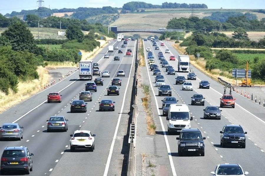 Delays worsened on motorways last year, new figures show