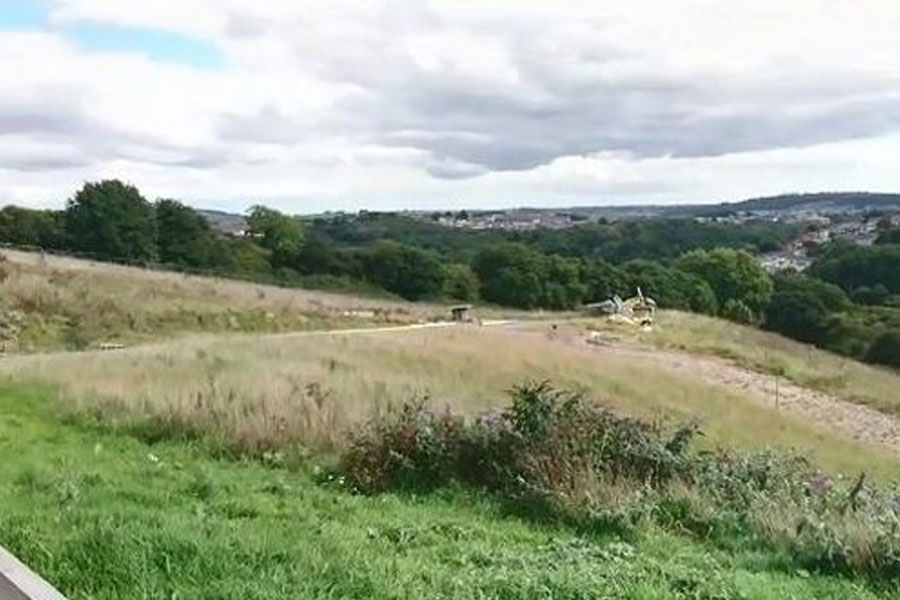Forder Valley as it is today (Image: Miles O'Leary)
