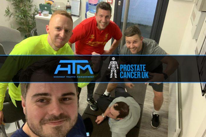 HTM   Team support Prostate Cancer UK with triathlon effort