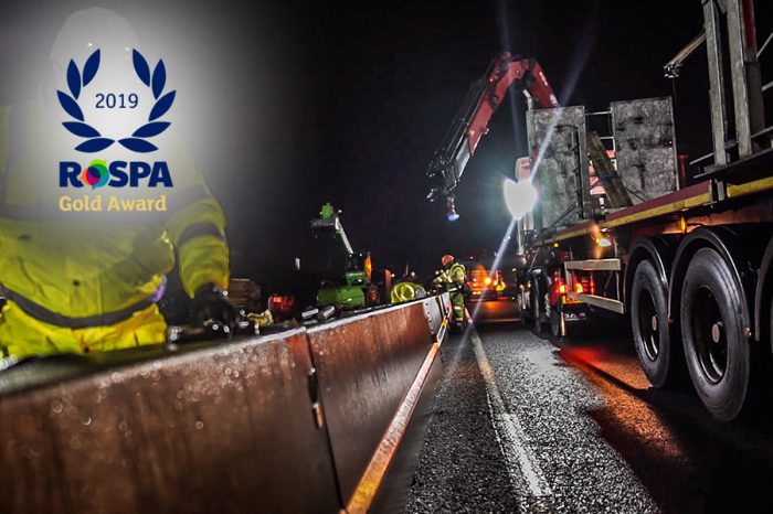 Highway Care | RoSPA Gold Award for health and safety practices