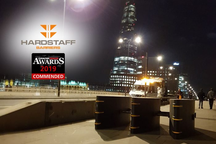 Hardstaff Barriers | Physical Security Commendation at Counter Terror Awards
