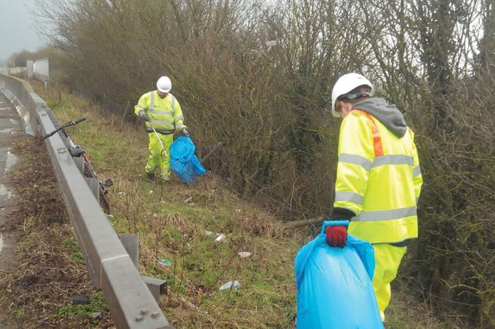 Drivers urged to clean up their act as part of national litter campaign