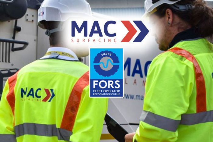 MAC Surfacing | FORS Upgrade as Silver Accreditation is achieved