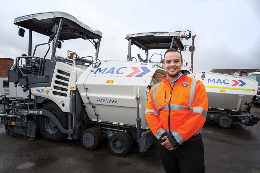 Marc Copson: MD of MAC Surfacing