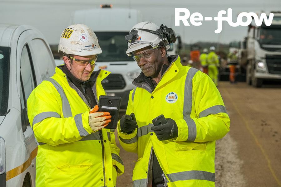 Re-flow | Paperwork costs UK construction £1,500 per employee/year