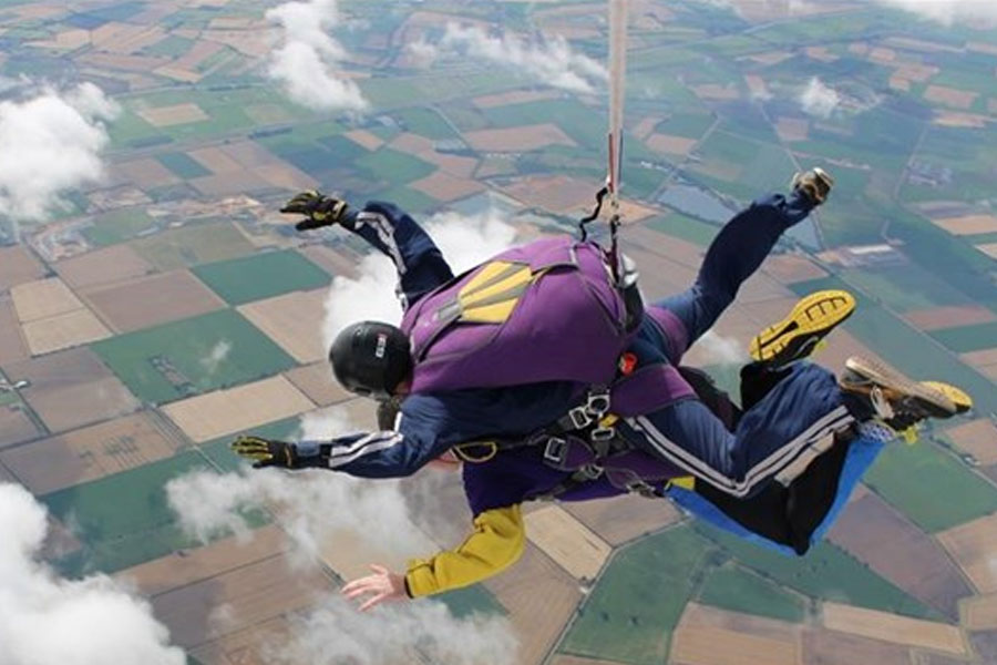 MVIS' George Sheldon will skydive for mental health charity, Mind