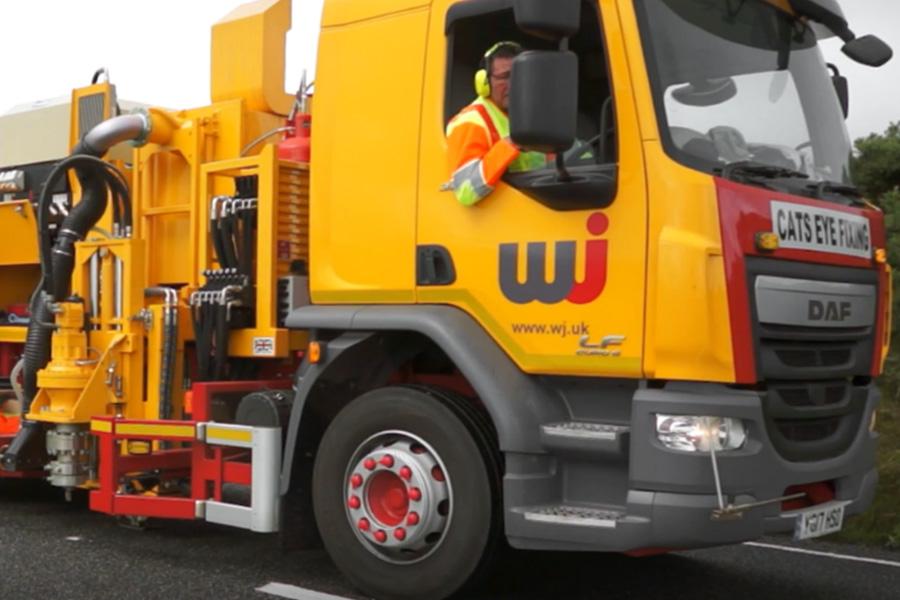 The WJ Guardian Road Stud Installation System