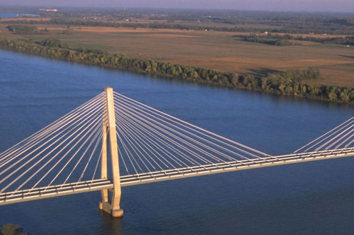 WSP designed the William H. Natcher Bridge, a magnificent cable-stayed crossing of the Ohio River