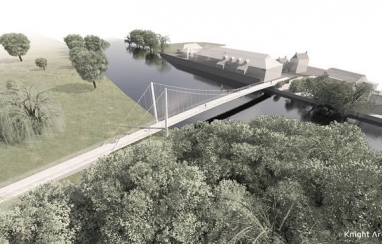An impression of WSP Cambridgeshire bridg