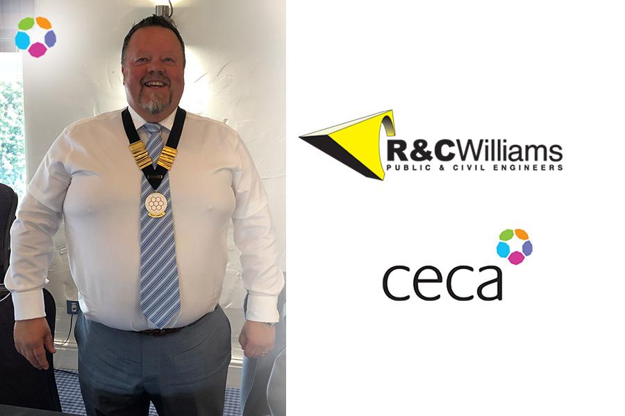 R & C Williams | Nigel Drew Inaugurated as New CECA Midlands Chairman